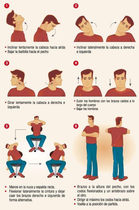 Para vos que sufrís el dolor de espalda, de cuello, que estás tensionado... Te dejamos más ejercicios de relajación. Tomate 5 minutos!