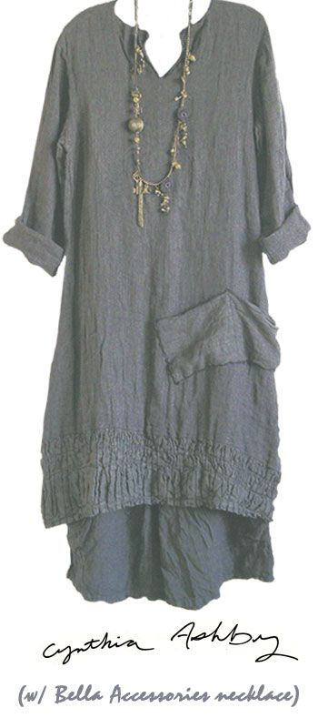 comfy... #grey long dress with underskirt.