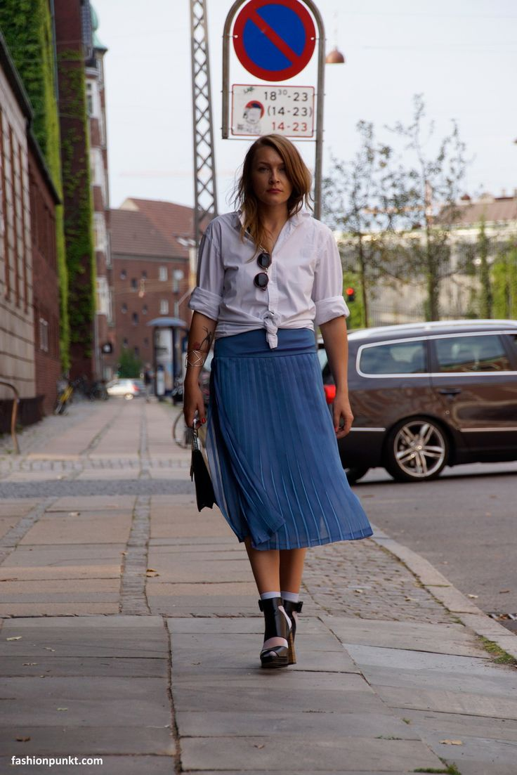 Outfit of Day 3 during Copenhagen Fashion Week SS15 Vintage Skirt from Paris