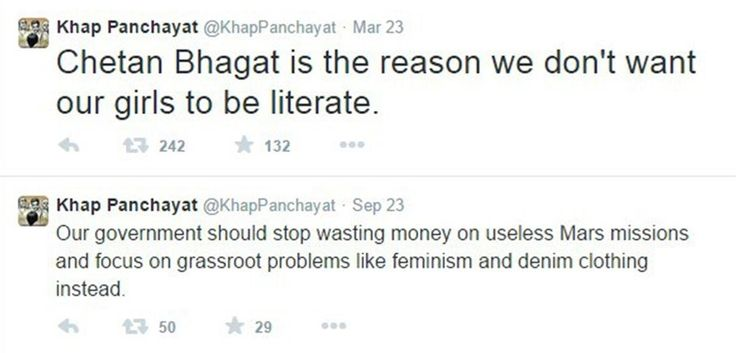 20 Khap Panchayat Tweets That Are So Sick That They Are Actually Funny