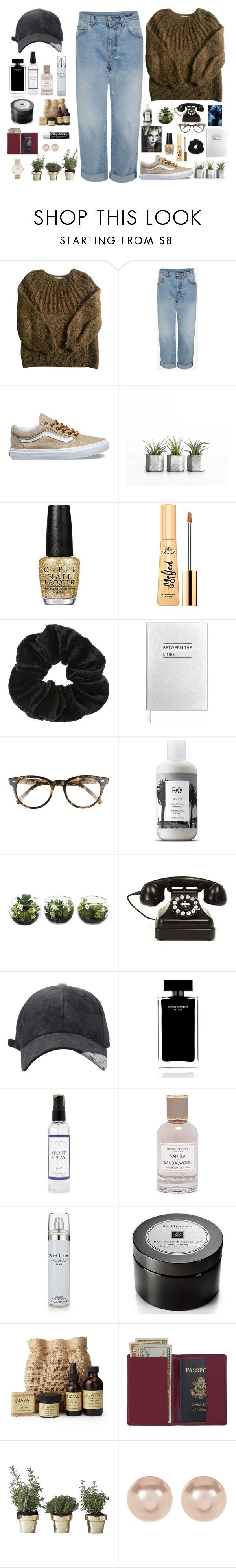 """"""":)"""" by siarabuck12 ❤ liked on Polyvore featuring Mes Demoiselles..., Vans, OPI, Too Faced Cosmetics, Miss Selfridge, Sloane Stationery, Corinne McCormack, R+Co, Home Decorators Collection and Narciso Rodriguez"""
