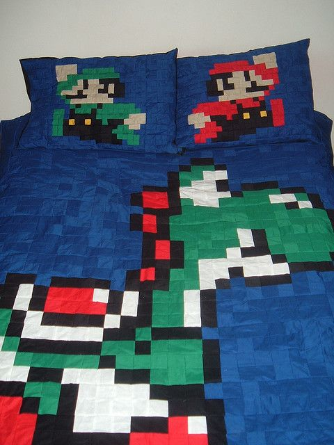 Yoshi Bed Set Mario Luigi Amp Yoshi Bed Flickr Photo