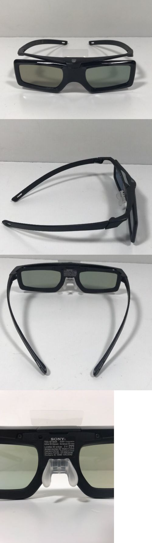 3D TV Glasses and Accessories: Lot Of 2 Sony Tdg-Bt400a 3D Active Shutter Glasses -> BUY IT NOW ONLY: $46.99 on eBay!