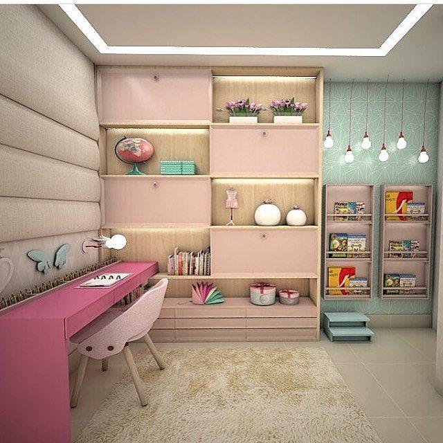 Projeto Anna Fernanda Alencar @annafernandalencar #assimeugosto  #quartodemenina #quartolindo #interiordesign · Baby DecorAnnaInstagram ... Part 42