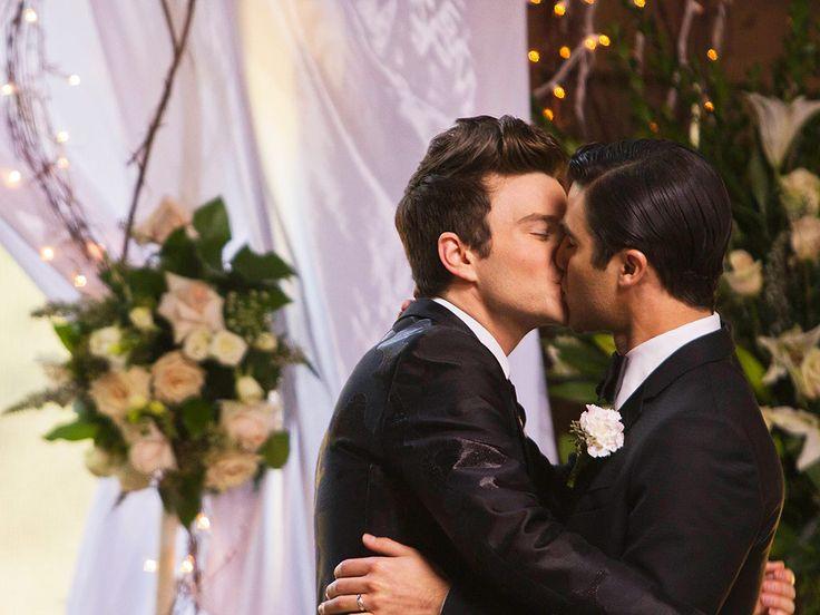 Inside the Surprise Double Wedding on Glee! (VIDEO)| Glee, TV News, Chris Colfer, Darren Criss, Heather Morris, Naya Rivera