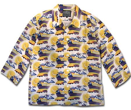 "BTTF ""FLYING FUTURE TRAIN"" Shirts"