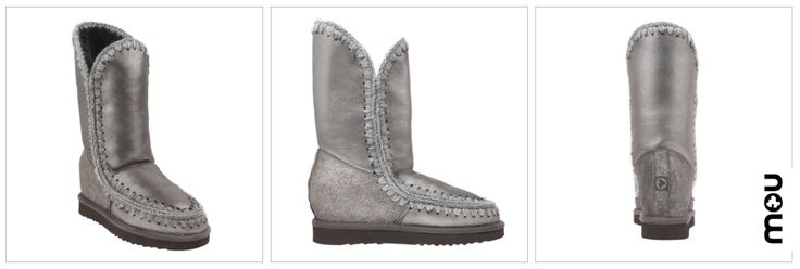 Las botas Mou, están confeccionadas a mano con piel de oveja de doble cara con costuras de lana de ganchillo, increíblemente cómodas !!! en #23CB Lagasca 83