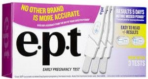 Save $3. on EPT Pregnancy Test