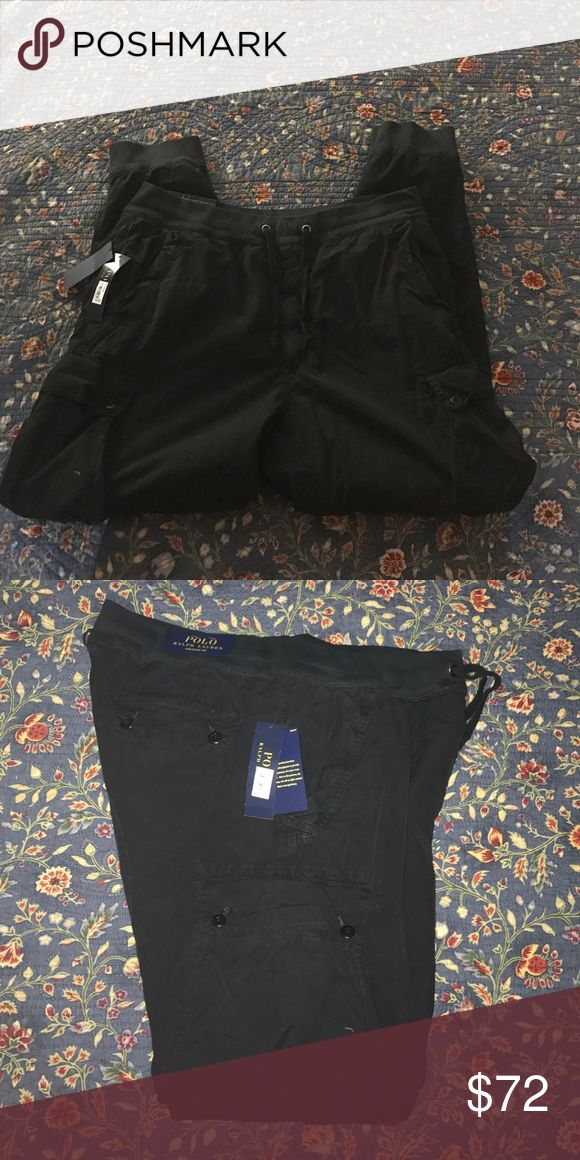 Polo Ralph Luaren Straight Fit Cargo Pants All Black Cargo Pants Polo by Ralph Lauren Pants Cargo