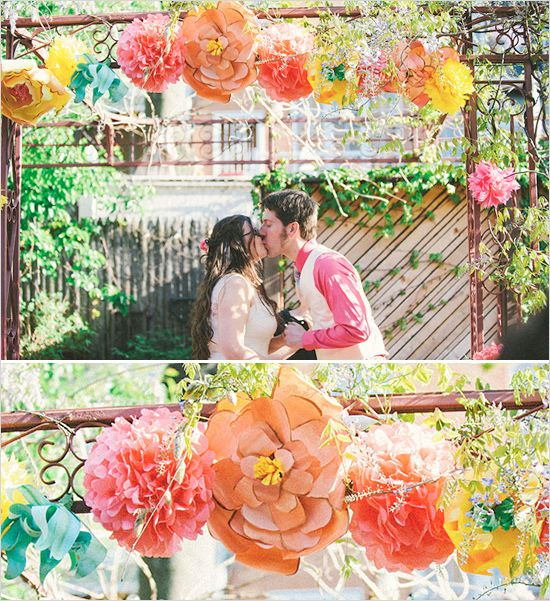 Wedding Decorations For The Altar: Inspiring And Useful DIY Videos From Creativebug