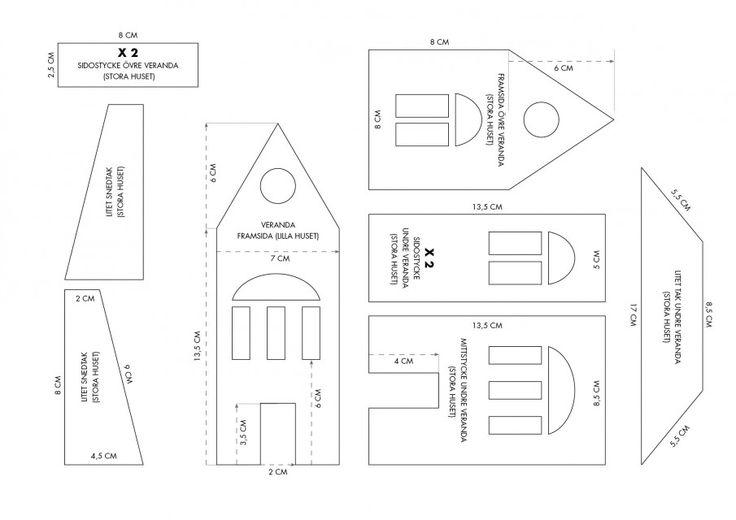 pepparkakshus ritning 2