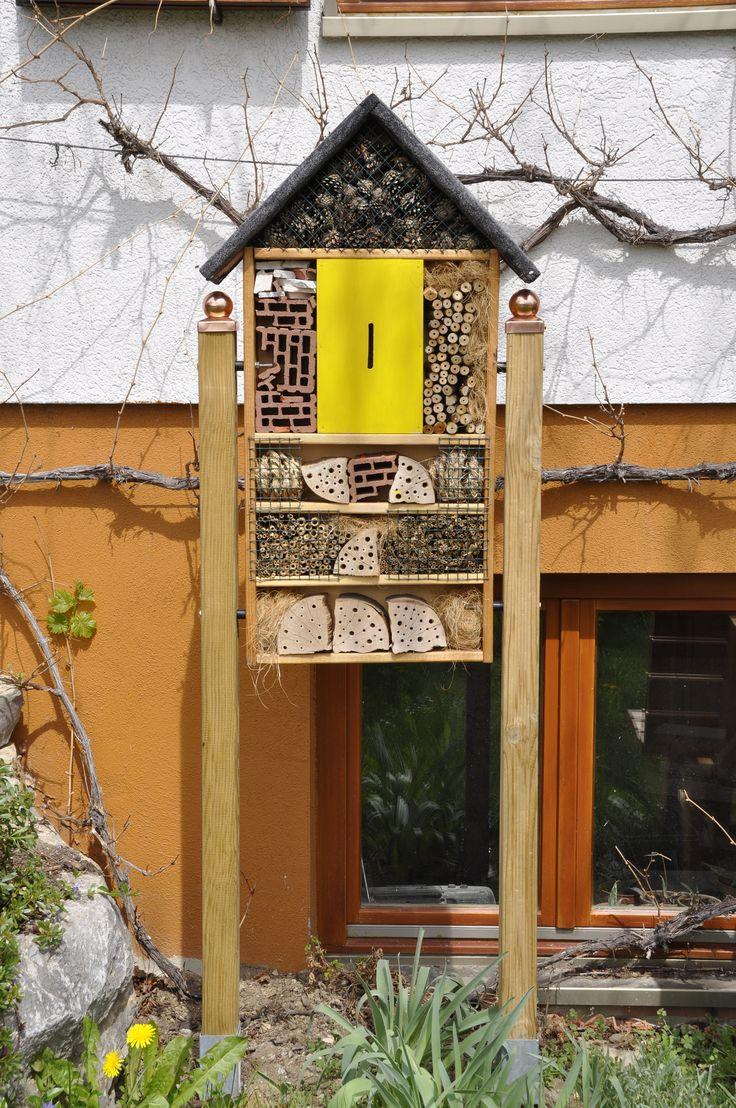 25 b sta insektenhotel bauanleitung id erna p pinterest bauanleitung vogelhaus nistkasten. Black Bedroom Furniture Sets. Home Design Ideas