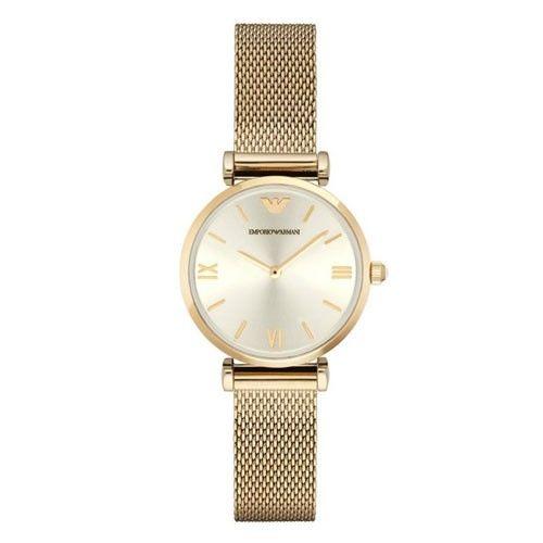 Armani Retro Ar1957 Silver Classic Women's Watch