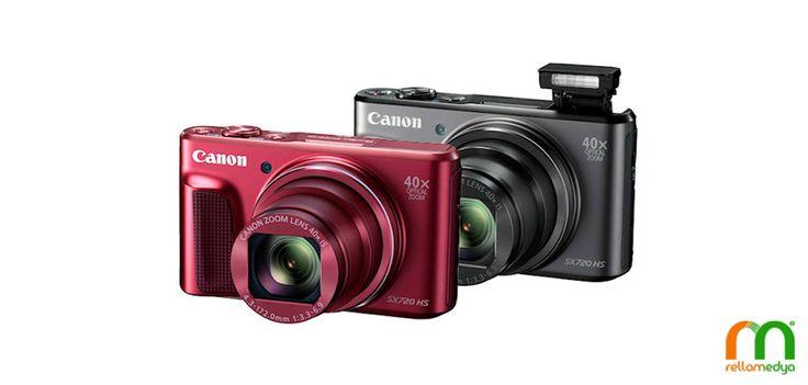 En İnce Fotoğraf Makinesi; Canon Powershot SX720 HS   Rella Blog