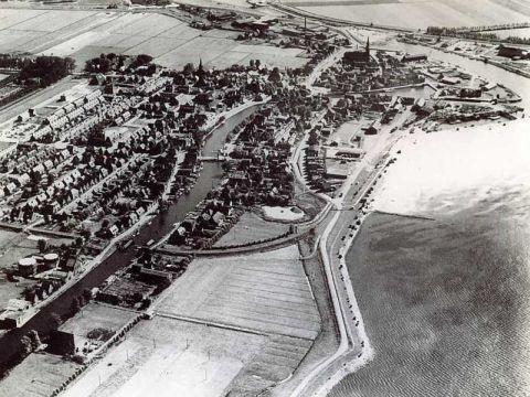 Spoorlijn door Lemmer 1950