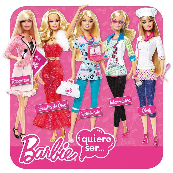 Muñecas Barbie quiero ser..... Mattel - Muñecas y peluches - Muñecas modelo - El Corte Inglés - Juguetes