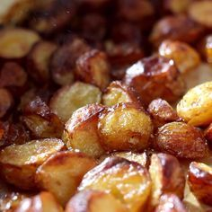 Like PBn'J, like Bread n' Butter these Salt n' Vinegar Roasted Potatoes are our take on a perfect food combo.