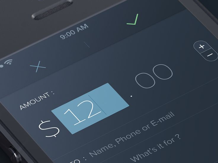 Pay Screen #UI