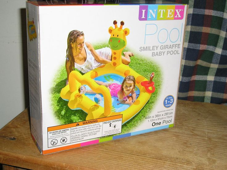 Intex Smiley Giraffe Baby Pool. BRAND NEW. CLEARANCE PRICED NOW !! Boy or Girl #Intex