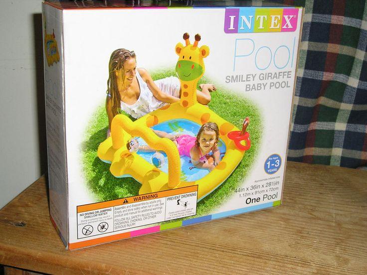Intex Smiley Giraffe Baby Pool. BRAND NEW. CLEARANCE PRICED NOW !! Boy or Girl #Intex