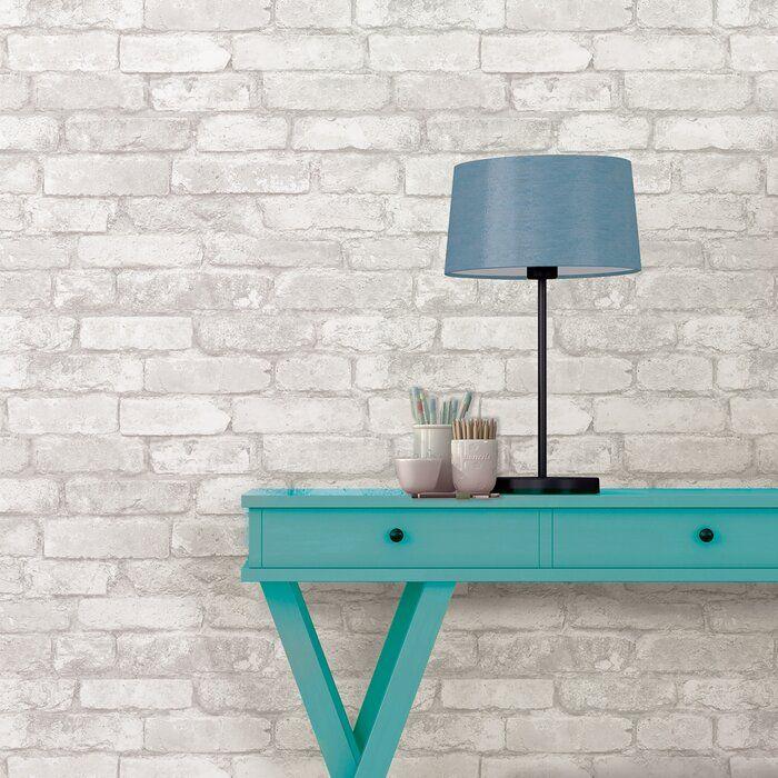 Wokingham 18 X 20 5 Peel And Stick Wallpaper Roll Removable Brick Wallpaper Peel And Stick Wallpaper Nuwallpaper