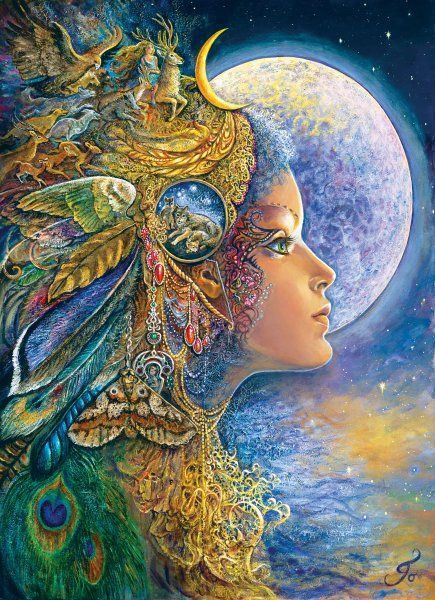 diana_by_josephine_wall.jpg (435×600)