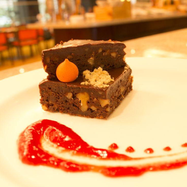 Brownie con frutos secos #Chocolate #FrutosSecos