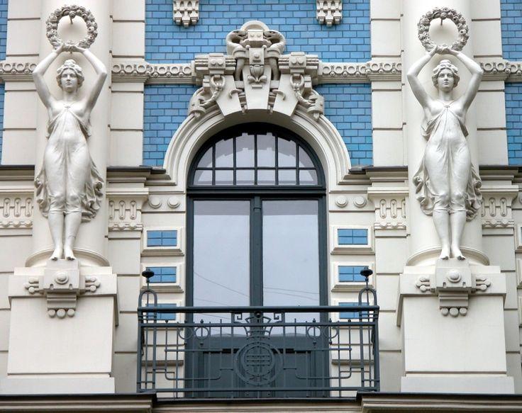 Art Noveau in Riga, Latvia