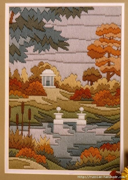 Lake House Plastic Canvas Patterns