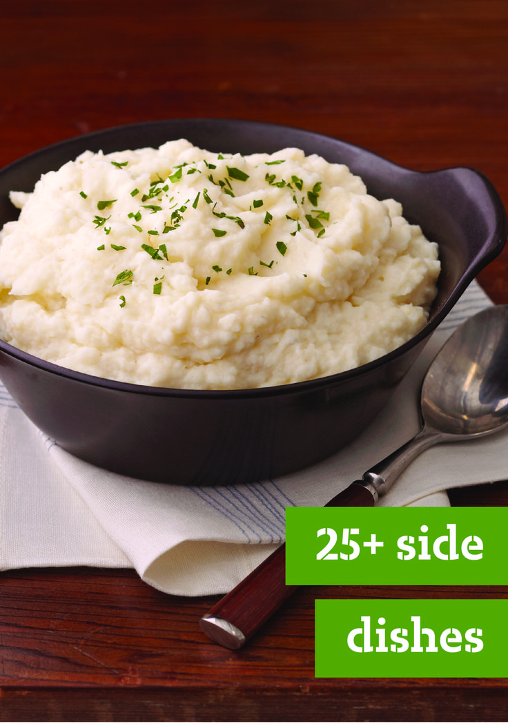 25+ Side Dishes – No matter the occasion—Thanksgiving menu, holiday party, special anniversary, or New Year's Eve dinner party—we've got just the side dish recipe you're looking for. Cheesy, creamy, bacon-topped, season produce, we've got them all!