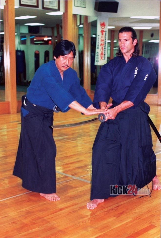 Lorenzo Lamas martial arts training