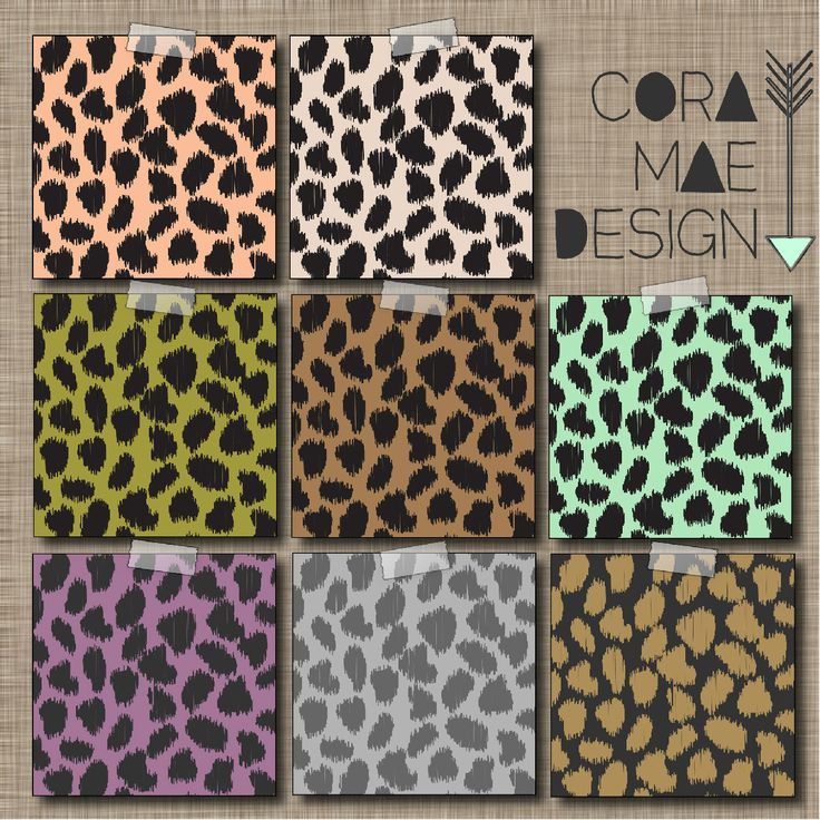 free  leopard print digital papers  12x12 u0026quot   u0026 8 5x11 u0026quot   also