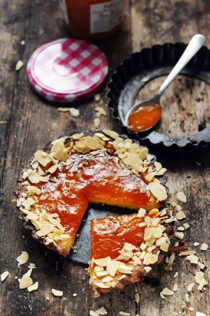 Shortbread tartelettes à l'abricot Bonne Maman et aux amandes, un petit plaisir au goût de madeleine d'enfance…