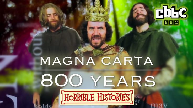 Here's a BRAND NEW Horrible Histories song! Find out how the Magna Carta came to be in the Horrible Histories 800 years Song. Head to the CBBC website to fin...