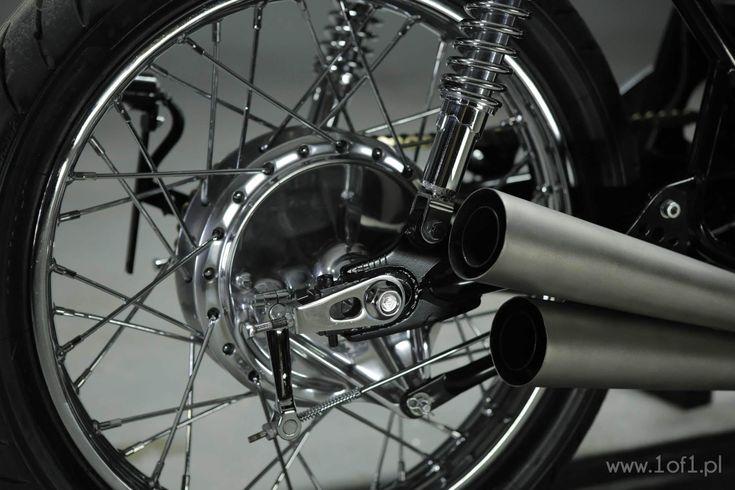 Honda CB550 SL exaust