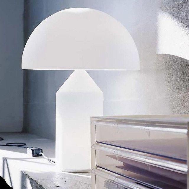 Oluce - Atollo Table Lamp White