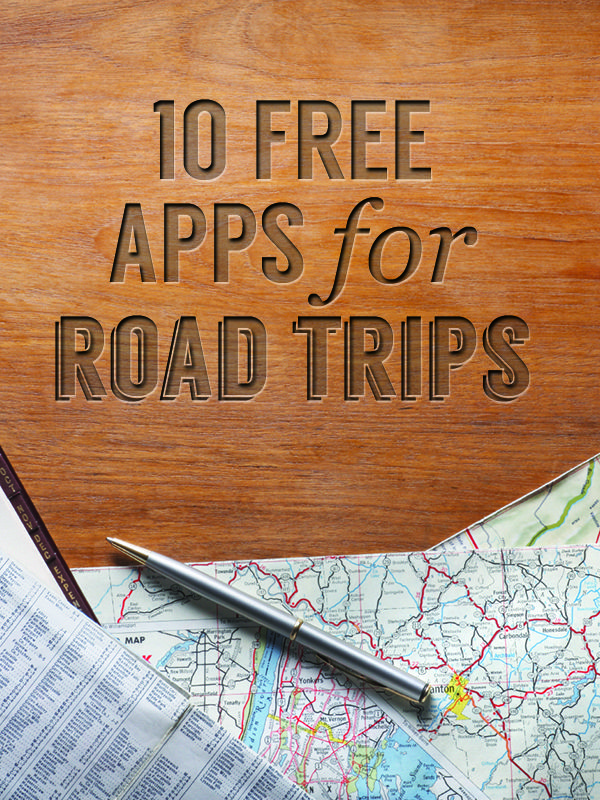 Here's all the motivation you need to go on a road trip: 10 Free Apps for Road Trips.