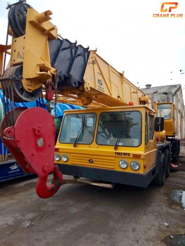 Truck Mounted Telescopic Boom Crane Grove - TMS475 of