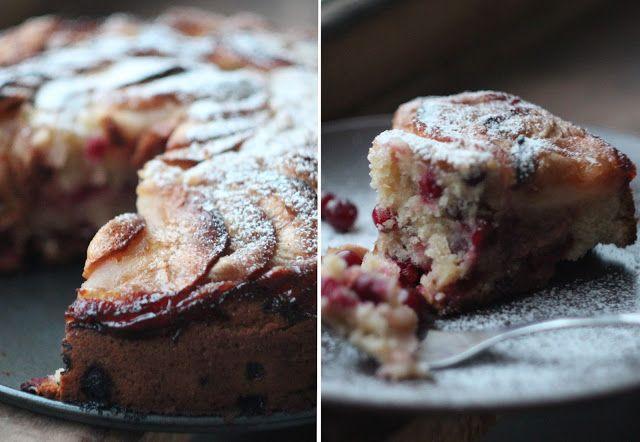 Mon Joli Pâtisserie: Яблочный пирог с клюквой и коричным сахаром