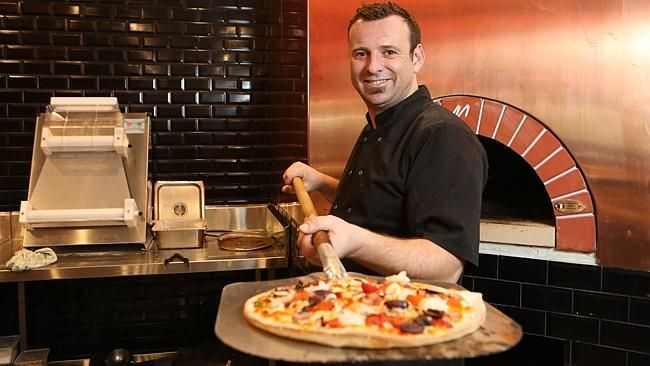 John Rankin will be serving up pizza from a Valoriani oven at Warwick Bistro. Picture: Bo