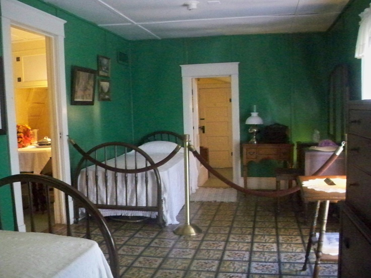Rose Wilder's bedroom in the Laura Ingalls Wilder Home, Mansfield,Missouri