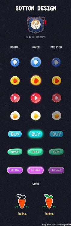 Samuel傑采集到Game UI-按钮框类