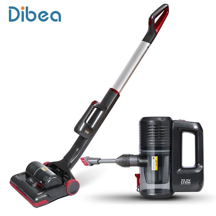 Dibea C01 Cordless 2-in-1 Upright Vacuum Cleaner Handheld Aspirator Stick Samsung Battery Recharging Vacuum Cleaner Cordless