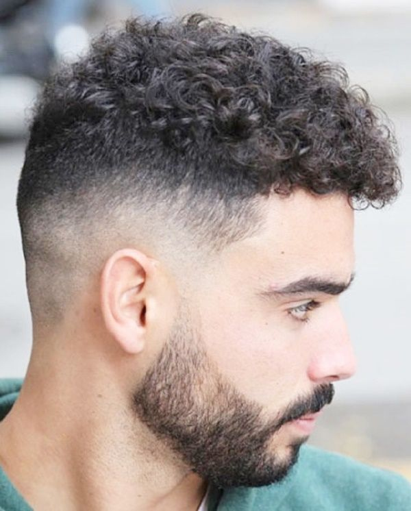 Stylish Curly Fade Hairstyles For Men To Try Fade Haircut Low Fade Haircut Curly Hair Men