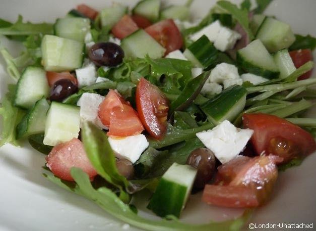 5-2 diet recipe Low Calorie Greek Salad
