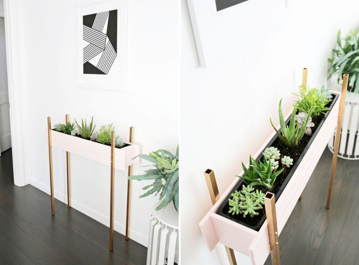 M s de 1000 ideas sobre jardineras interiores en pinterest - Jardineras para interiores ...