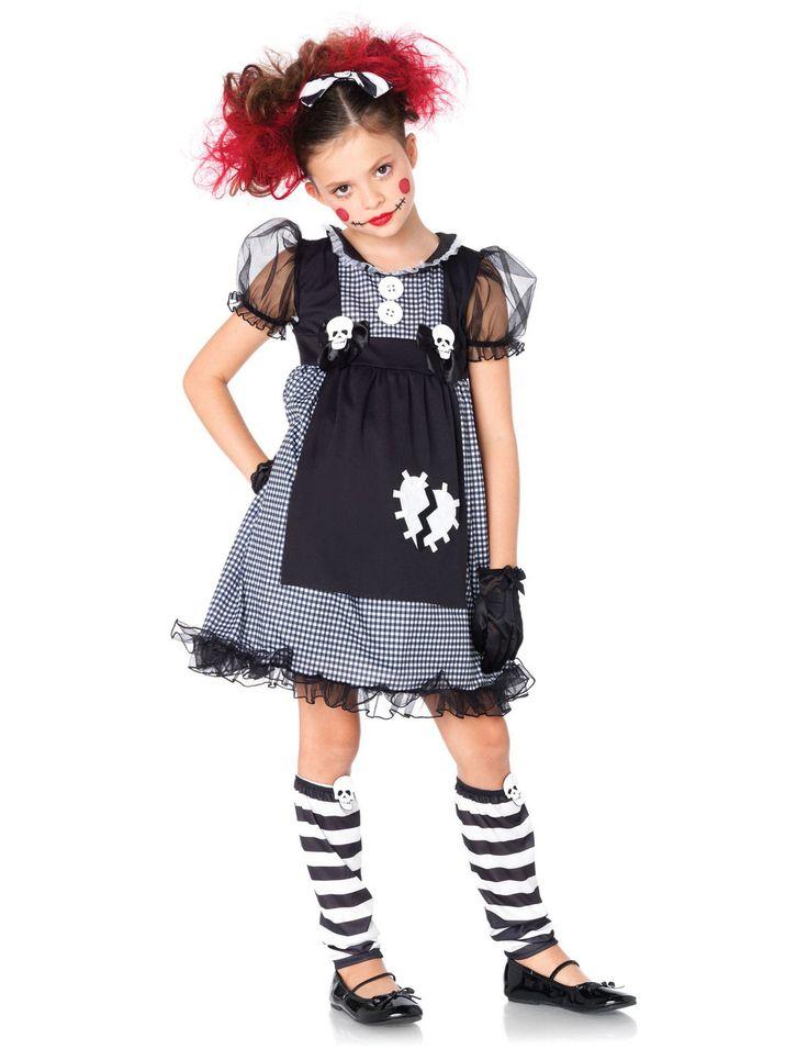 leg avenue dark dollie costume kid halloween