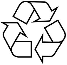Αποτέλεσμα εικόνας για recycle logo white clipart