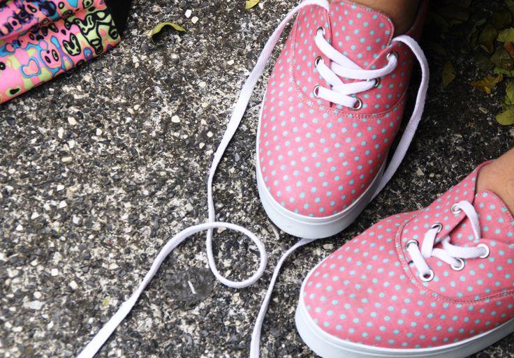Dotty sneakers size 36-41 217k #localbrandid #madeinindonesia
