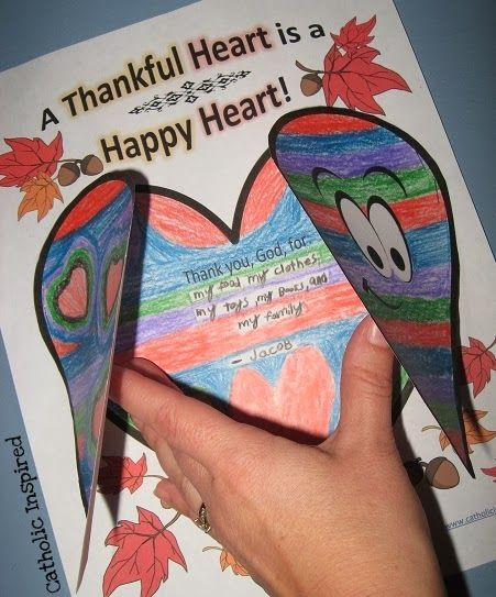heart craft ideas for preschoolers thankful worksheet and project catholic 6701